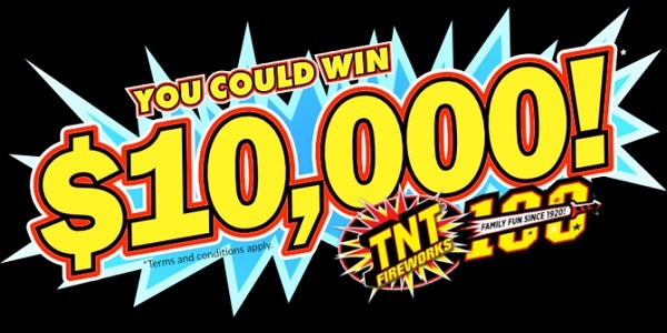 TNT Fireworks $10000 Sweepstakes