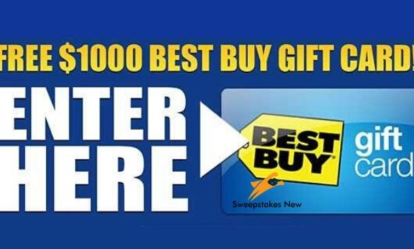$1000 Best Buy Gift Card Giveaway