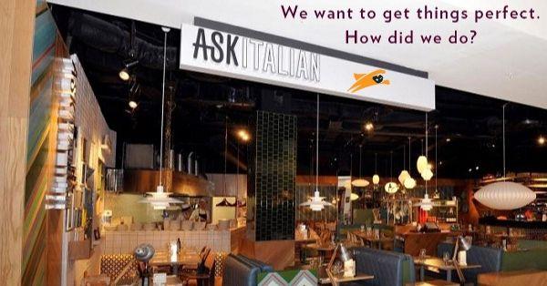 ASK Italian Customer Survey