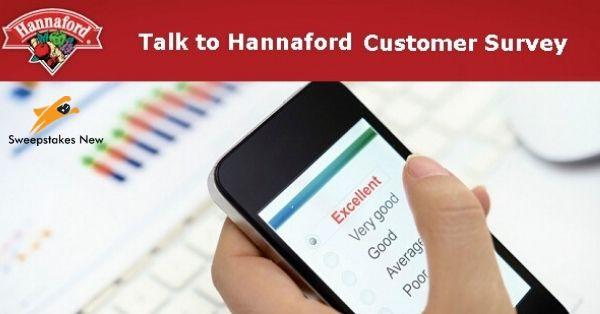 Talk to Hannaford Customer Survey