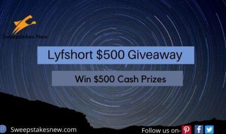 Lyfshort $500 Giveaway