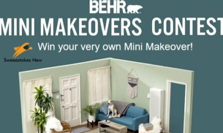 Behr Mini Makeovers Contest