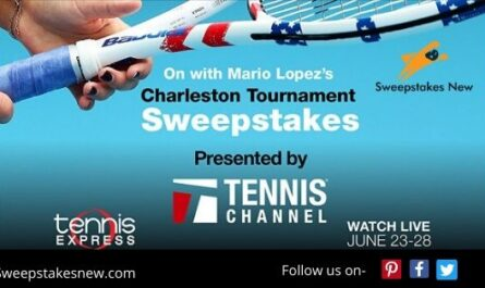 Mario Lopez's Charleston Tournament Sweepstakes