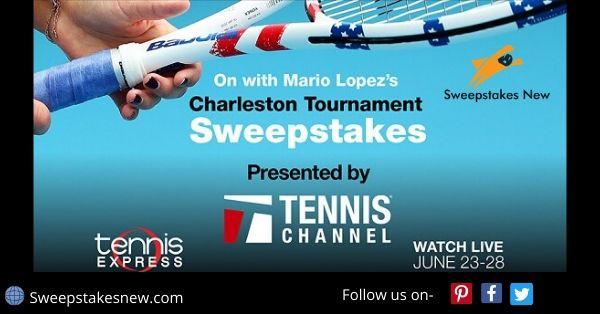 Mario Lopez's Charleston Tournament Sweepstakes