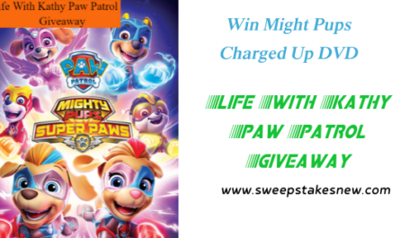 Life With Kathy Paw Patrol Giveaway