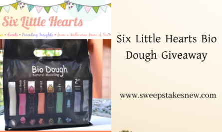 Six Little Hearts Bio Dough Giveaway