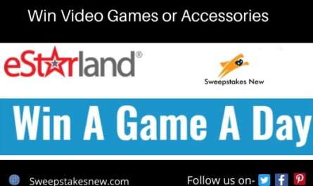 Estarland Win a Game a Day Sweepstakes
