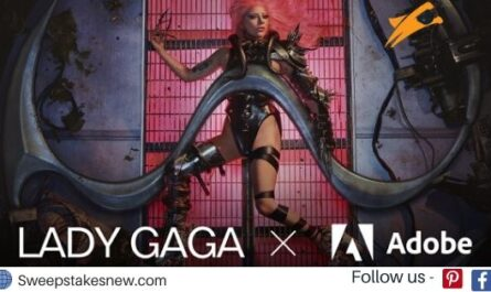 Lady Gagas Adobe Chromatica Contest