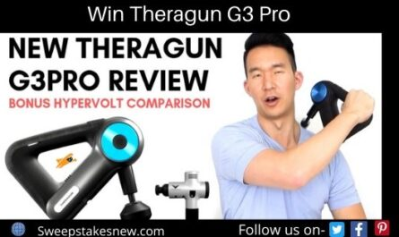 Therabody Theragun G3 Pro Giveaway