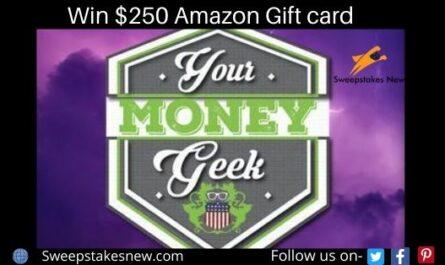 Your Money Geek Amazon Giveaway