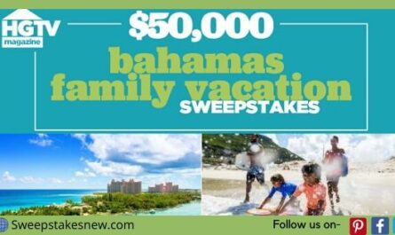 Hgtv Magazine Bahamas Family Vacation Sweepstakes