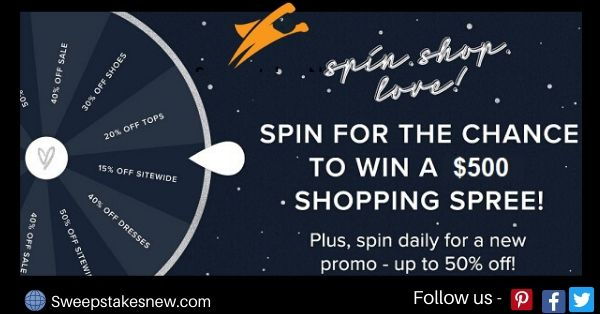 Lulus Summer Spin to Win Sweepstakes