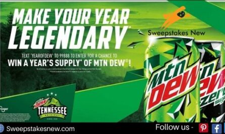Pepsi MTN DEW Sweepstakes
