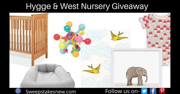 Hygge & West Nursery Giveaway