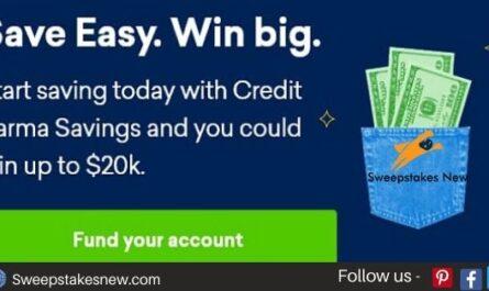 Credit Karma Savings Sweepstakes 2020