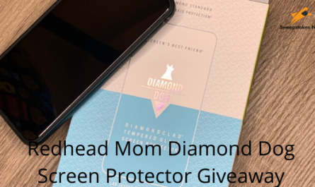 Redhead Mom Diamond Dog Screen Protector Giveaway