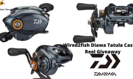 Wired2fish Diawa Tatula Casting Reel Giveaway
