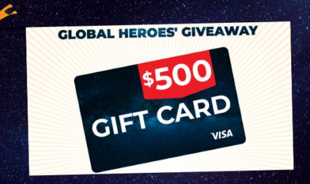 Global Heroes Visa Giveaway