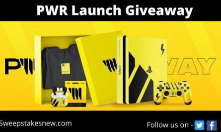 PWR Launch Giveaway