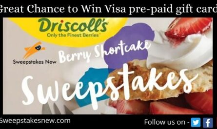 Driscoll's Berry Shortcake Sweepstakes