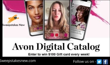 Avon Digital Catalog Sweepstakes