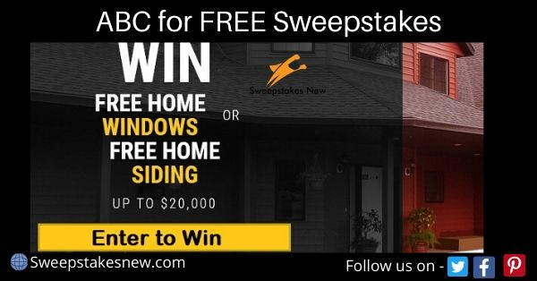 ABC for FREE Sweepstakes