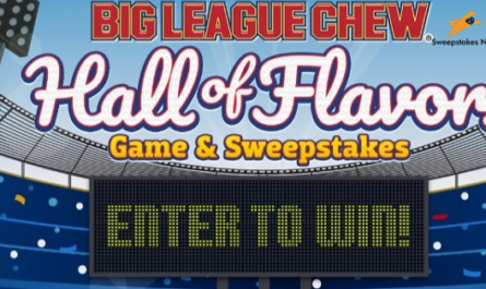 Big League Chew Hall of Flavors Sweepstakes