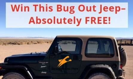 Spy Briefing Jeep Giveaway