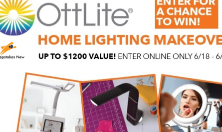 Ottlite Home Lighting Makeover Sweepstakes