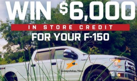 American Trucks $6000 Shopping Spree Sweepstakes