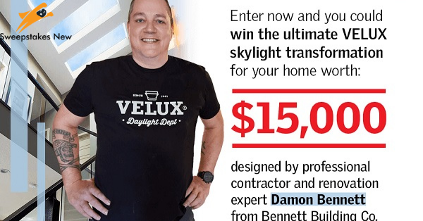 HGTV Velux Skylight Contest