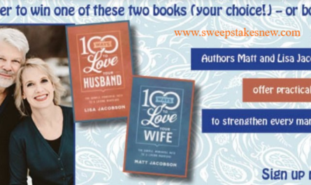 Great Book Or Two To Strengthen Your Marriage Contest