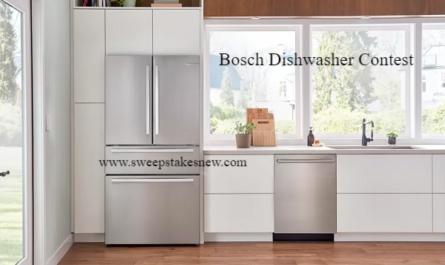 Bosch Dishwasher Contest
