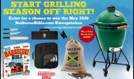 Barbecue Bible Start Grilling Season Off Right Sweepstakes
