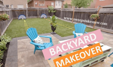 Coors Light Backyard Makeover Sweepstakes