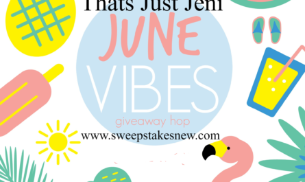 Thats Just Jeni June Vibes Giveaway