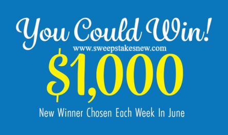 Bobby Bones Show June Cash Sweepstakes