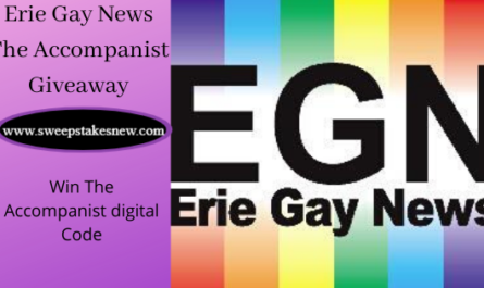 Erie Gay News The Accompanist Giveaway