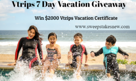 Vtrips 7 Day Vacation Giveaway