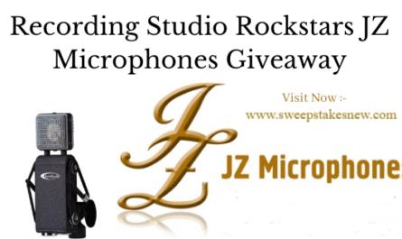 Recording Studio Rockstars JZ Microphones Giveaway