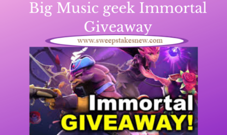 Big Music geek Immortal Giveaway