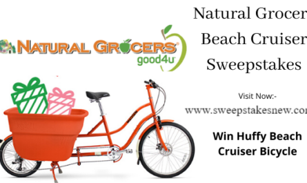 Natural Grocers Beach Cruiser Sweepstakes