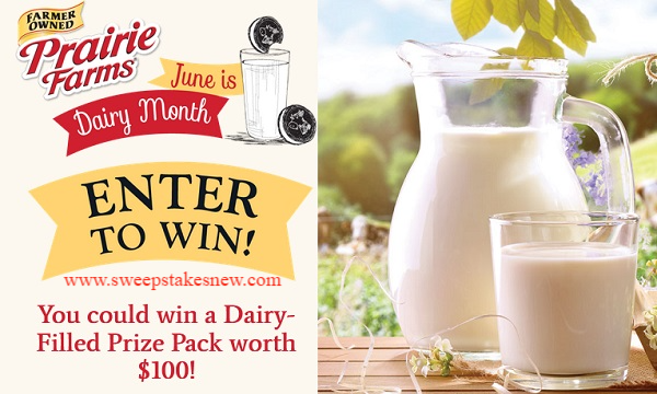 Prairie Farms Dairy Month Sweepstakes