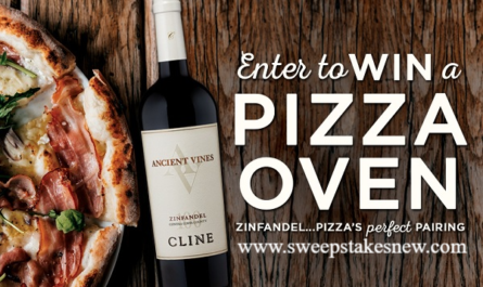Cline Cellars Pizza Perfect Pairing Sweepstakes