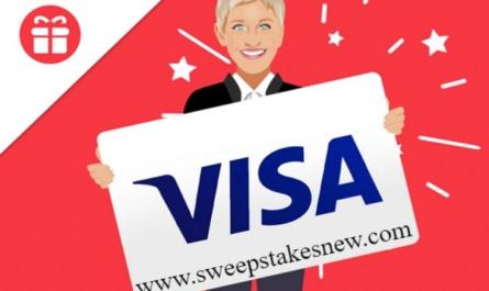 Ellen $1000 Visa Gift Card Sweepstakes