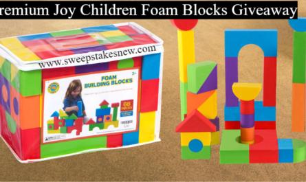 Premium Joy Children Foam Blocks Giveaway