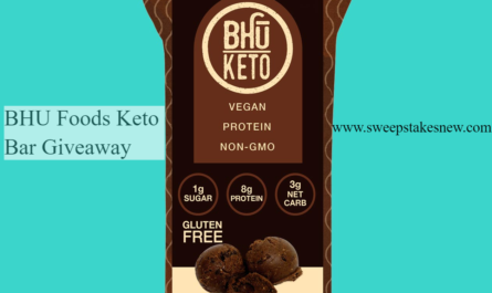 BHU Foods Keto Bar Giveaway