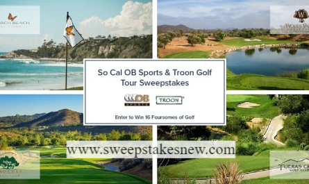 Monarch beach Golf Sweepstakes