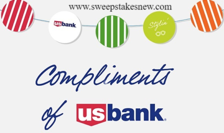 Compliments of U.S. Bank Cash Sweepstakes