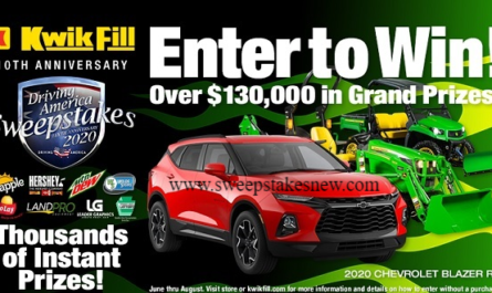 Kwik Fill Driving America Anniversary Sweepstakes